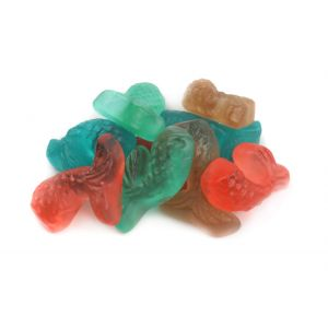 Gummy Mermaid Tails