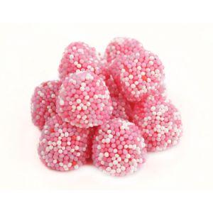 Pink Nonpareil Gummy Berries