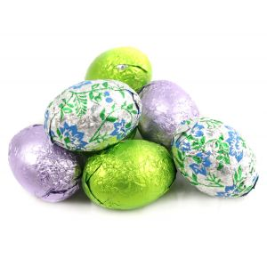 Solid Milk Chocolate Crispy Eggs